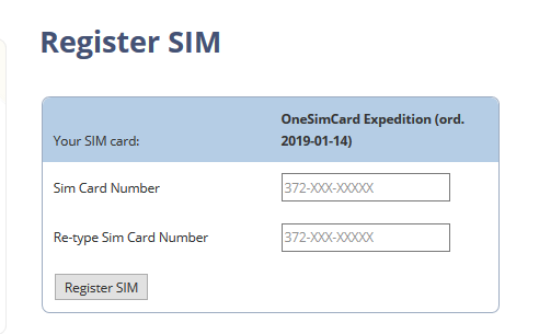 one sim card 設定