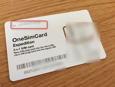 one sim card 設定方法